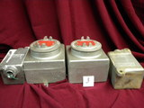 Outlet Box Hazardous Location, Cat # 6ue, (2) Small Boxes, 5