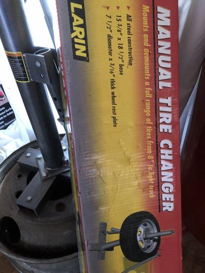 Mechanical Tire Changer