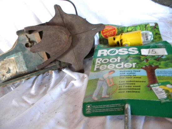 Old Antique Hand Seeder; Ross Root Sprinkler Feeder.