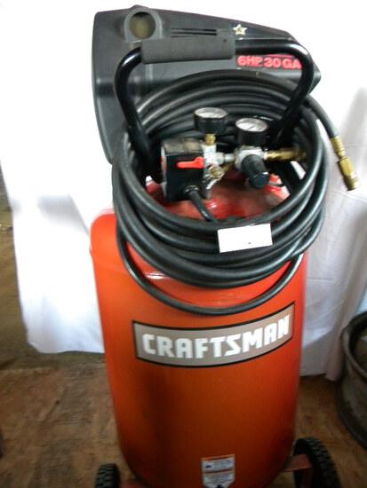 Craftsman 150 Psi, 6 Hp, 30 Gal, 110 V., Air Compressor
