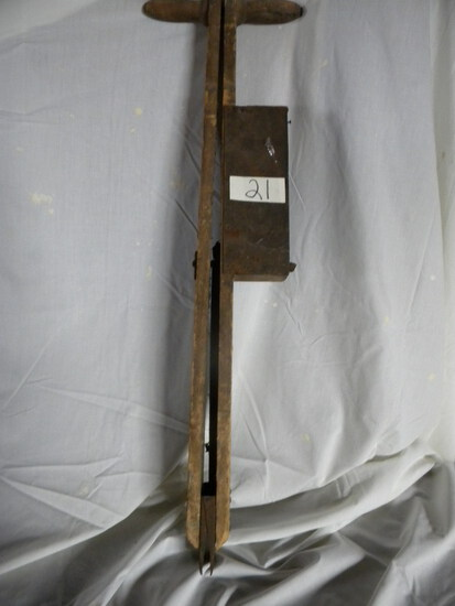"""Corn Planter; Insignia """"the Trumph 34"""", Kent Cara Planter Co. Janesville"""