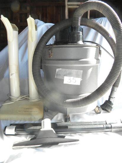 Jet Vacuum W/attachments; Boot Dryer-pair.
