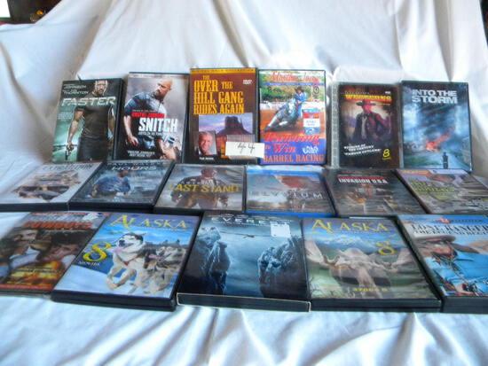 Dvd's= 17 Westerns, E.G. Roy Rogers, Lone Ranger Etc.