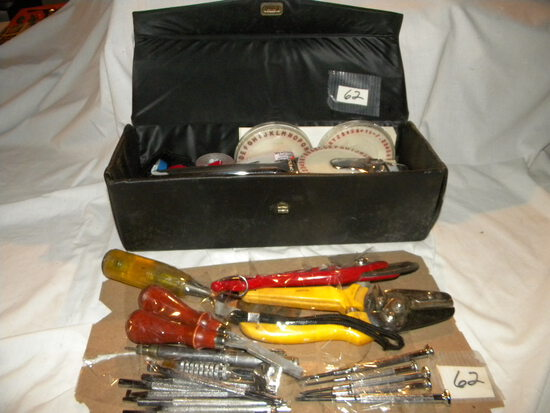 Wood Carving Tools; Labeling Kit; Screw Drivers And More.