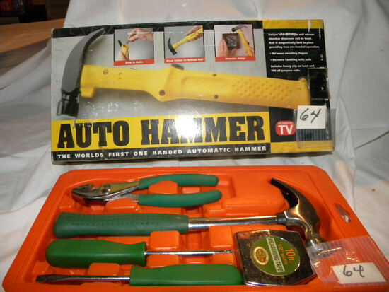 Auto Hammer; Misc. Household Tools.