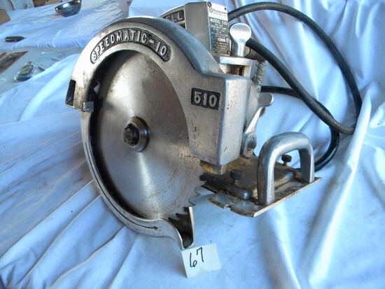 Rockwell Speed Miter Saw-model 510. 10 1/4 Heavy Duty, W/manual
