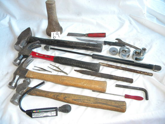 Sledge Hammer; Ball Pien Hammer;anti Freeze Tester; Allen Wrenches.