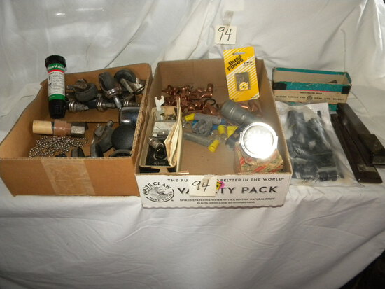 Variety Chair Rollers; Rain Guage; Stamp Indicator; Amp Guage Etc.