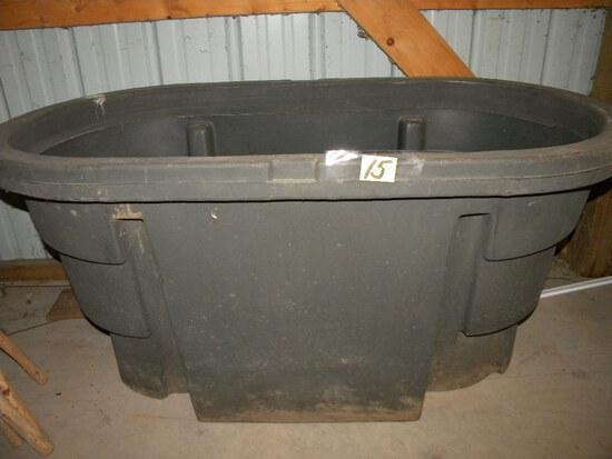 100 Gal. Poly Animal Water Tank