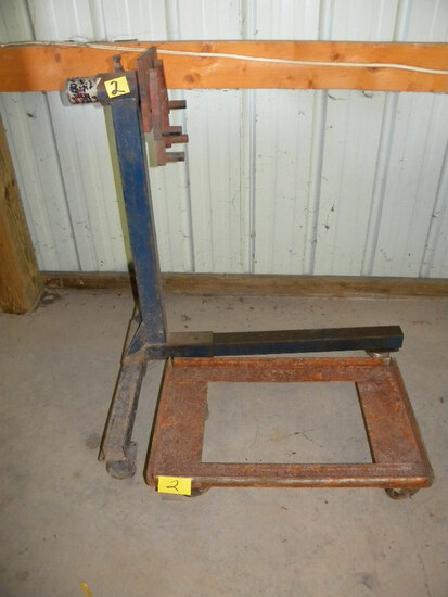 Engine Stand; Metal Wheel Dolly.