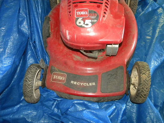 Toro 22', Power Mower, 6.75 Hp, (has Compression-not Started)