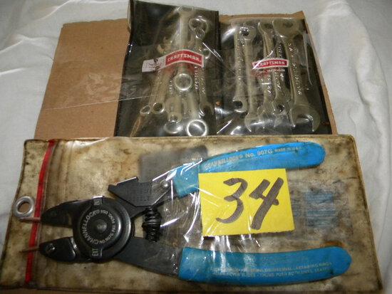 Craftsman Ignition Wrench Set.