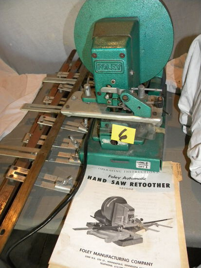 Foley Automatic Hand Saw Retoother