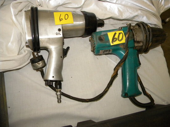 Makita, Model 6905 Electrical Impact Wrench-works: Heavy Duty Pneumatic Imp