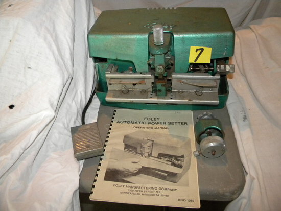 Foley Automatic Hand Saw Tooth Setting