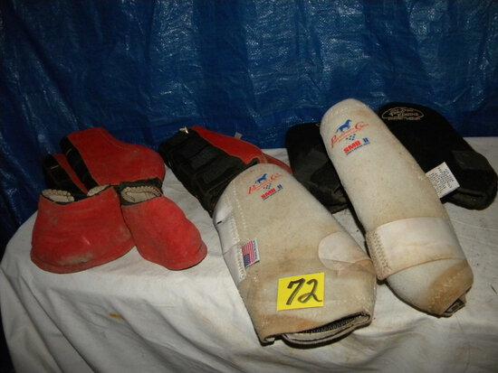 Wraps/leg-wraps & Hoof Protectors.