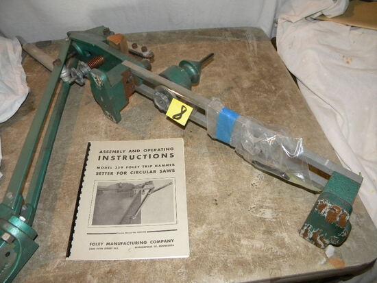 Foley Trip Hammer For Circular Saw, Model 359.