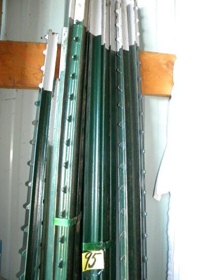 Steel Fence Posts, (18)