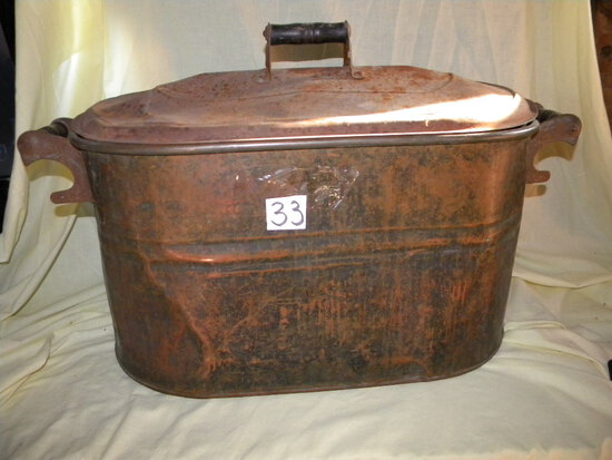 Collectible=Copper Boiler W/lid.