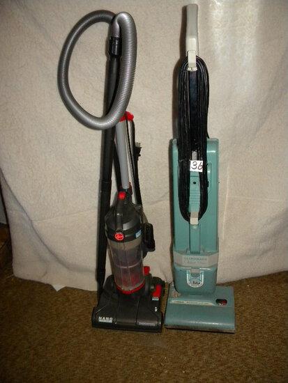 Vacuum Cleaners=Hoover Nano Cyclonic Bagless Vac; Lynn House Classic Bag Vacuum.