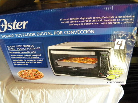 Kitchen=Oster Convection Oven, New, In Original Container.