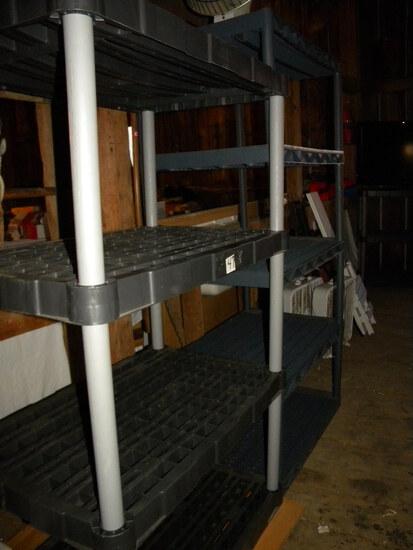 Storage=Three, Poly Shelves