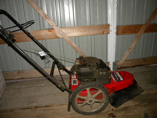 "Troy Built 22"" String Trimmer, 6 Hp Briggs And Stratton."
