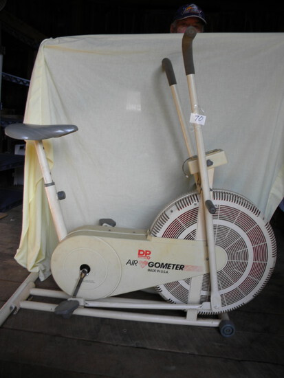 Air Geometer Exercise Bike W/battery Digital Read-out.