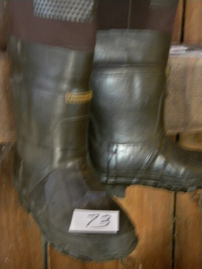 Fishing=Thinsulation Shoulder Waders, Steel Shank, Size 6.