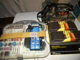shop Equpt.=220 Piece Trade Craft Rotary Tool; Craftsman Belt Sander W/3