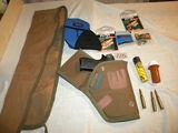 Marksman Repeater Bb Pistol, W/holster, Bb's; Long Rifle Gun Case.