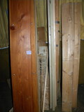 Lumber=Assortment Of Various Dimensions= (4) 2 X 6, (2) 2 X 9 X 8'; 2 X2, Corner M