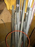 Metal=Ferrous And Non Ferrous Metal Piping, Angle Iron, And Flat Stock; Basketbal