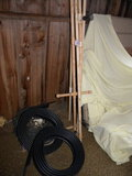 Lawn Pvc Lawn Sprinkler System Lines; 50 Ft Seepage Hose; 2 Rolls Of Landsc