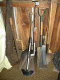 Tools=Single Person Crosscut; Scoop Shovel; Small Rake; Shovel
