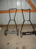 Pair Of Reel Mowers=yard Work, 20