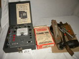 Tools=Accurate Instrument Co. Utility Tester, Model 161, W/case, Manual; Wood Fol