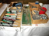 Barn Door Center Latch; New Bolts & Nails; 7 Tubes Of Const. Adhesive; Trai