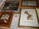 Prints  2 by Bev Doolittle Winter Scene & Horse