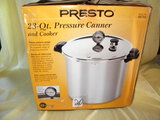 Kitchen=Presto Pressure Cooker/canner, New In Box.