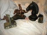 Coppertone Horse Statute 10