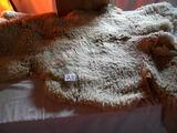 Pair Of 30 X 47 Sheep Hides.