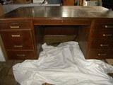 Mahogany Wood Office Desk, 28