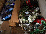 Pair Of Wreaths; Pair Of Cascade Lights Sets; Large Variety Of Holidays Lig