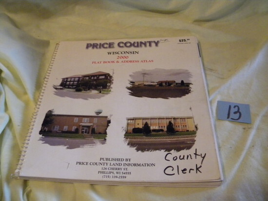 "Price County Wisc. 2002 Plat Book; (6) Petry Books Of ""cherished Poems Of"