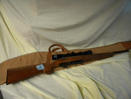 Remington, 308 Win, Model 788, Scope, Case, Wood Stock; Armsport 3x Scope,