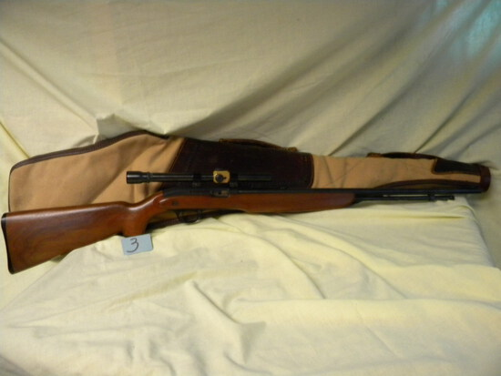 J.C. Higgins, 22 Lr or 22 Shorts High Speed, Model 31, Wood Stock, Automati
