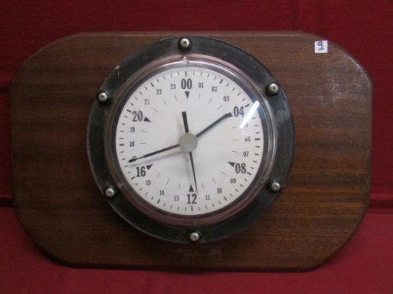 24 Hour Military Clock
