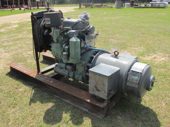 20 KW Detroit Diesel Generator