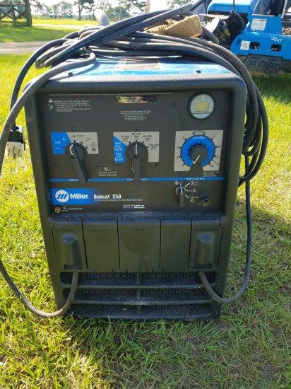 Miller Bobcat 250 Welder W/ 10,000W Generator
